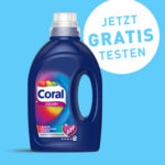 [abgelaufen] [GzG] Coral Waschmittel gratis testen