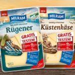 [GzG] 3 Käsesorten von Milram gratis testen