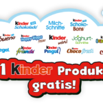 [GzG] Nur am Kindertag, 20.9, ein Ferrero Kinderprodukt gratis testen