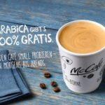Bis zum 15. November gratis Kaffee bei McDonald's