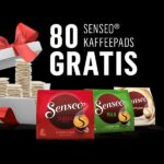 [GzG] 80 Senseo Kaffee Pads kostenlos