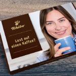 Kostenloser Kaffeegruß von Tchibo
